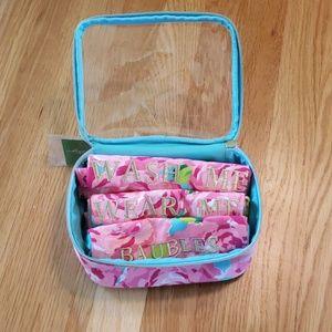 NWT Lilly Pulitzer four piece laundry set